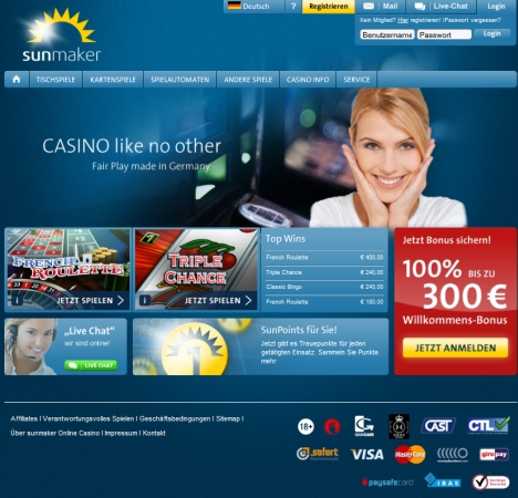 casinos online test