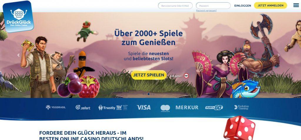 DrückGlück Casino Vorschau