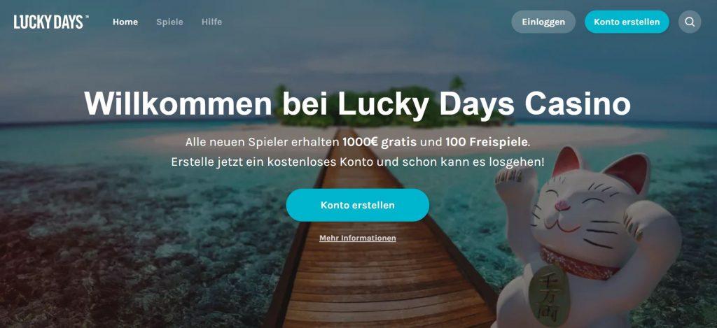 Lucky Days Casino Vorschau